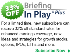 Get 33% off Briefing In Play Plus for earnings season